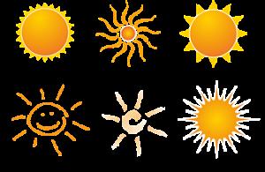 Calor y sol